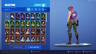 *NEW ACCOUNT* $2,500 FORTNITE LOCKER SHOWCASE + GALAXY SKIN (Season 8)