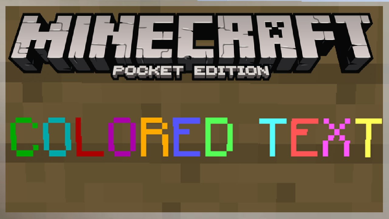 [0.11.1] HOW TO GET COLORED TEXT ON SIGNS IN MCPE ...