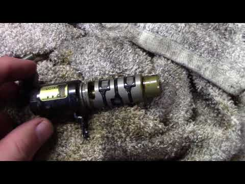 2008 Honda Accord Variable Valve Timing Solenoid Oil Leak Fix