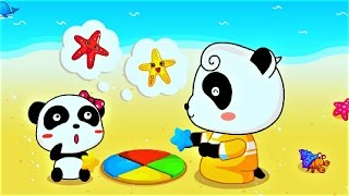 Baby Learn Color, Shape With Little Panda | Fun Educational Game