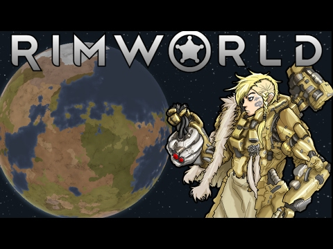 [22] Rimworld A16 Super-Modded |Base 2 Defensive Wall & New Indoor Growing