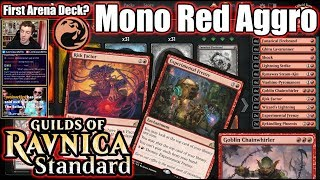 What's The Perfect First Constructed Deck For Magic Arena... How About Mono Red Aggro!