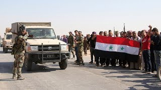 Assad's troops return to northeast Syria after Kurds forced into alliance with Syrian regime