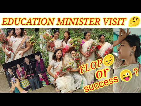 EDUCATION MINISTER VISIT -  FLOP OR SUCCESS?