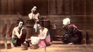 100多年前日本美女的珍貴彩照│100 years ago Japanese woman color Picture