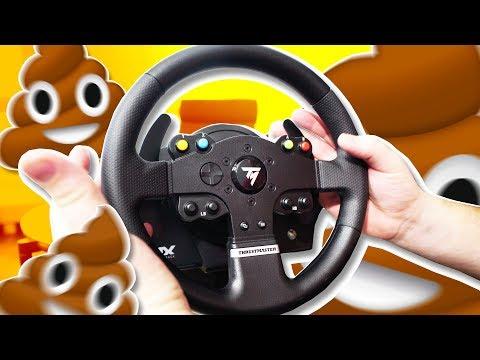 Игровой СРУЛЬ! Thrustmaster TMX PRO - Ржачные видео приколы
