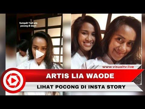 Heboh Penampakan Pocong di IG Stories Lia Waode