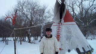 Winter Tipi with Dale Aadland