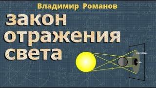 ЗАКОН ОТРАЖЕНИЯ СВЕТА физика 8 класс | Романов