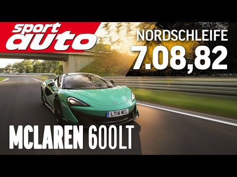 See the McLaren 600LT match the Nurburgring lap time of the 720S