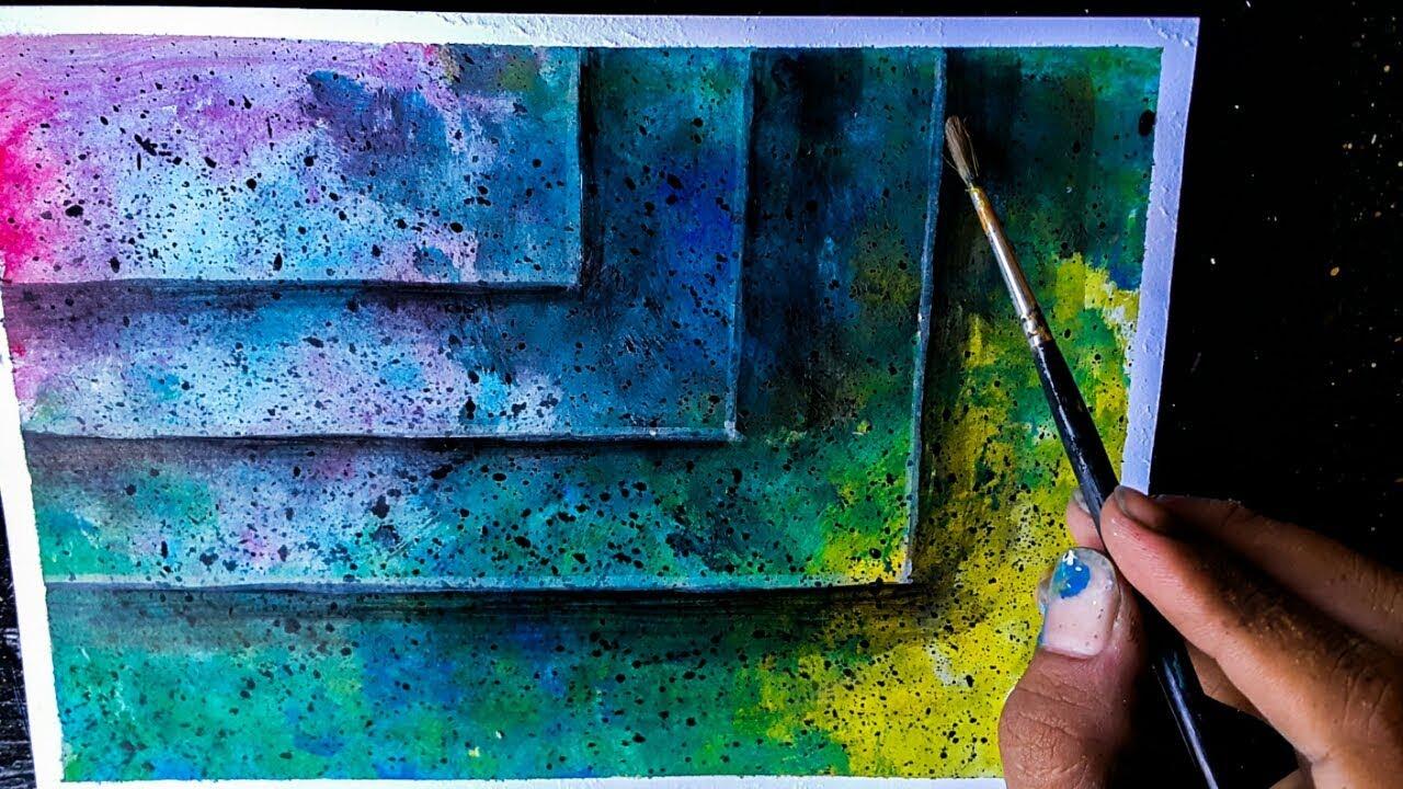 Cara Melukis Abstrak Untuk Pemula