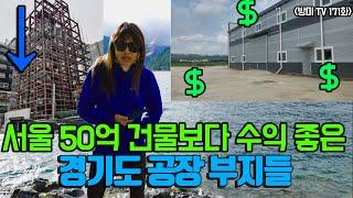 서울 50억 건물보다 수익률 좋은 경기도 공장 부지들 …