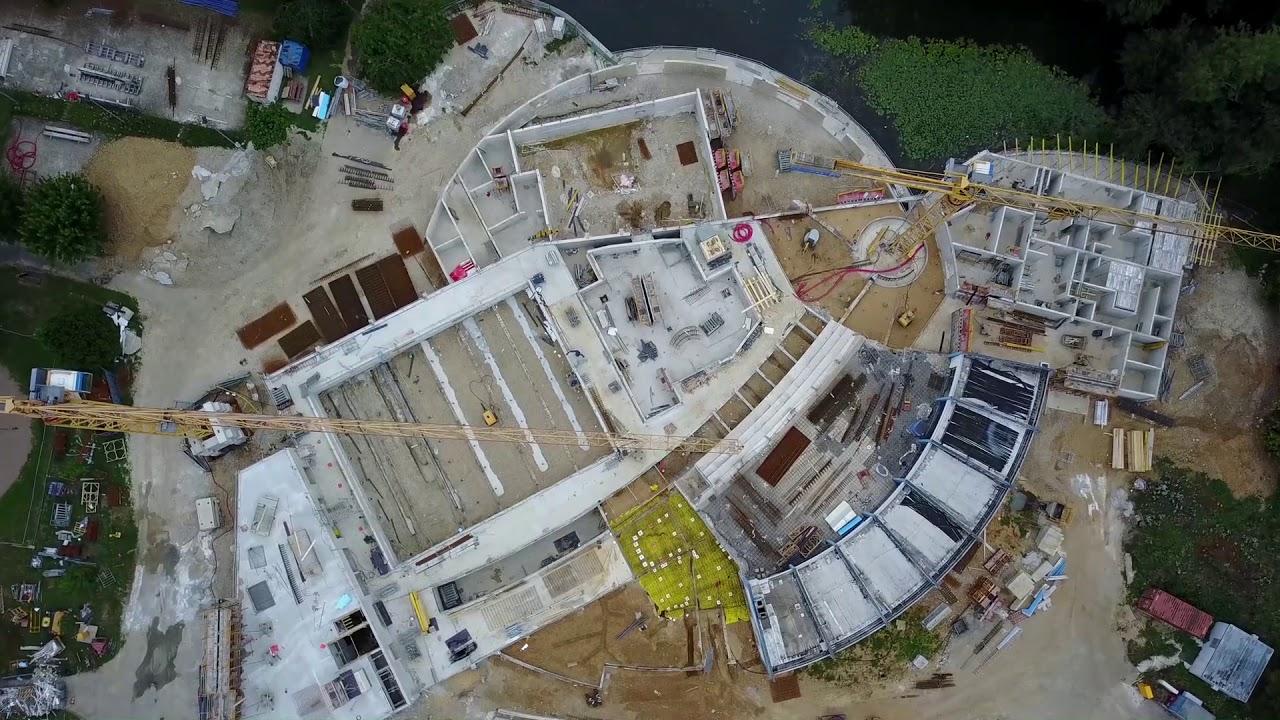 Construction De La Piscine De Vendome construction piscine des grands prés août 2017