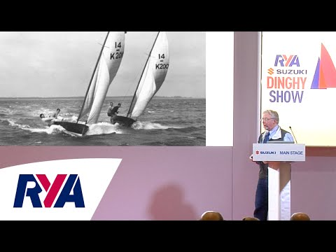 History of the Merlin Rocket Dinghy Presentation with David Henshall - RYA Suzuki Dinghy Show