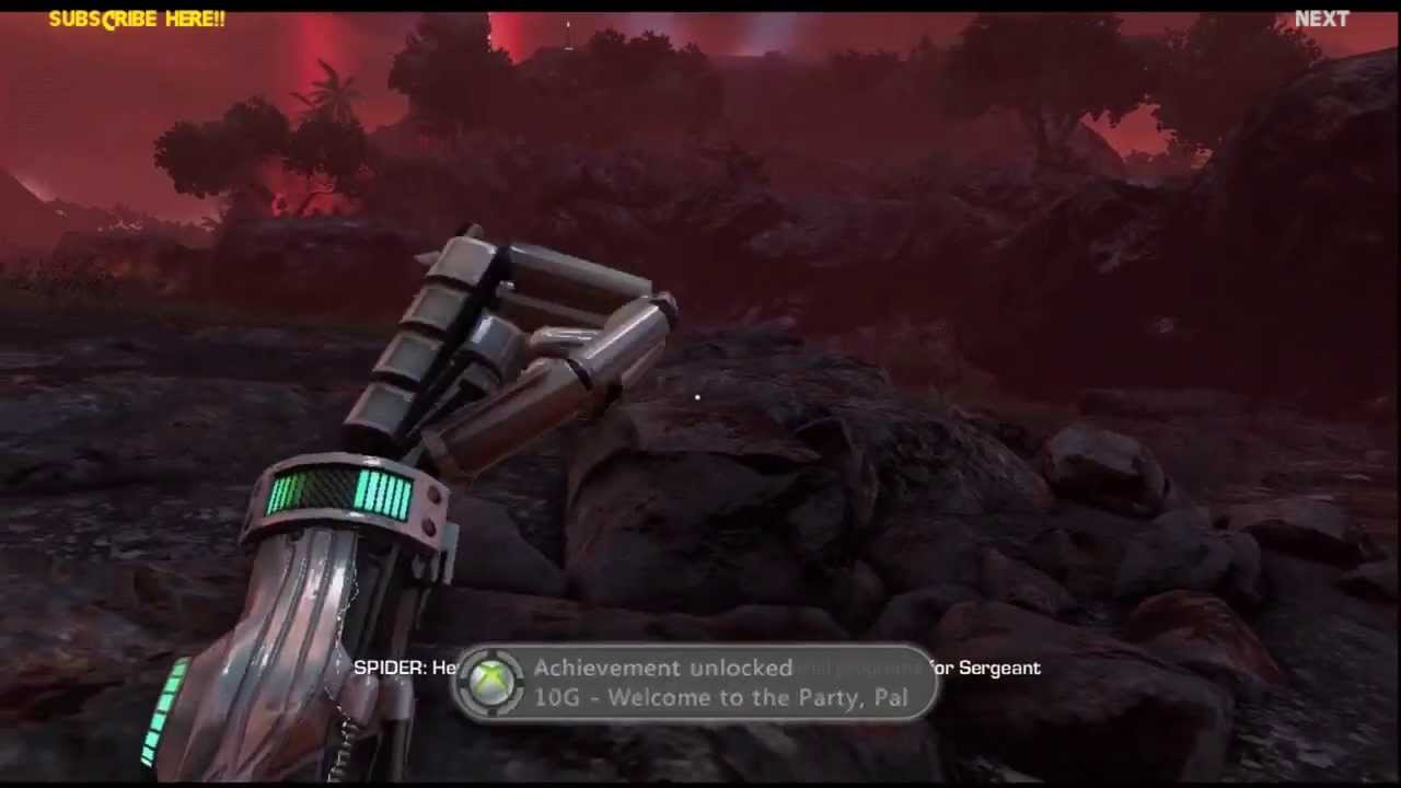 Far Cry 3 Blood Dragon Welcome Back Sergeant Rex Power Colt Mark Iv Story Part 1 No Commentary Youtube