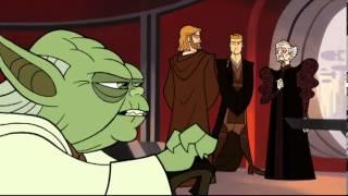 Star Wars Las Guerras De Los Clones Caricatura Capítulo 1/25 Audio Latino
