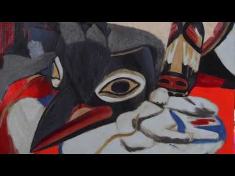 Art in Haines, Alaska, Donna Catotti creates