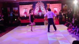 Salsa Dancing at Indian Wedding