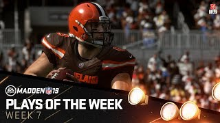 Madden 19 - Plays of the Week 7