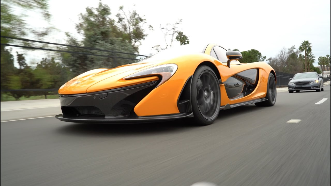 McLaren P1 at the Moulin Cars & Coffee organized by Ted Seven ...