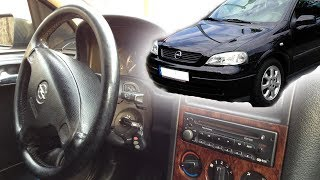 Inside Opel Astra 2000