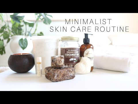 Minimalist Skincare Routine | Acne Prone Skin - YouTube