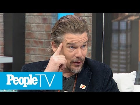 Ethan Hawke On Working With Amanda Seyfried, Reveals Advice For Daughter Maya On Acting  PeopleTV
