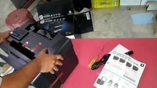 HP LASERJET PRO MFP M128fn UNBOXING