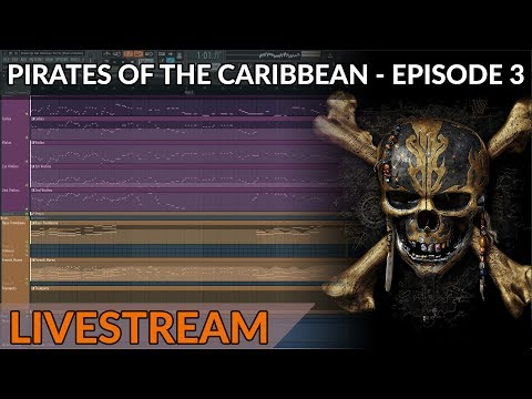 Composing Live: Pirates Of The Caribbean Medley - Part 3 - The Epic Cinematic Crescendo