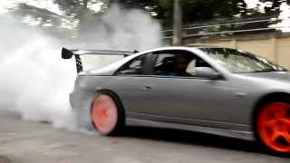 300zx fairlady burnout