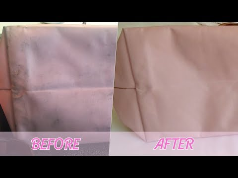 HOW TO CLEAN LONGCHAMP BAGS IN THE WASHING MACHINE