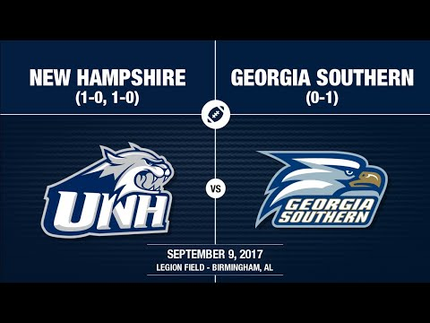 2017 Week 2 - New Hampshire at Georgia Southern