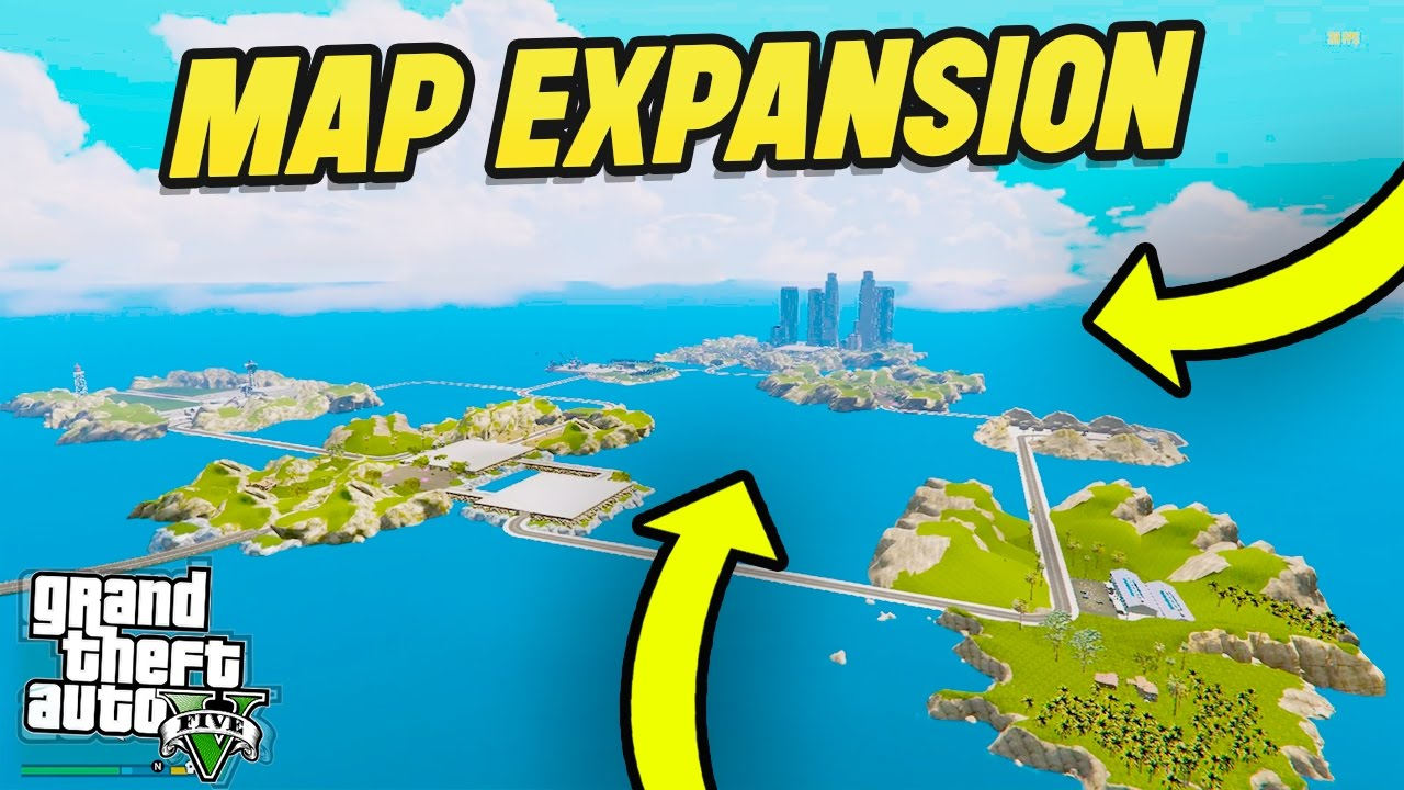 GTA 5 NEW MAP EXPANSION (GTA 5 Mods)