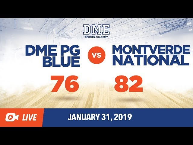 DME PG Blue vs Montverde National