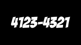 Dexterity V: 4123 4321