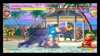 super street fighter 2 turbo jojomaru balrog boxer vs guile bonsai man