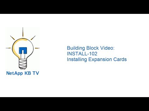 Building Block Video: INSTALL-102 Installing Expansion Cards