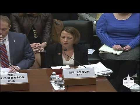 House Oversight Commitee: EFF Senior Staff Attorney Jennifer Lynch