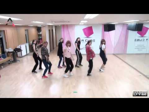 A Pink - Hush (dance practice) DVhd