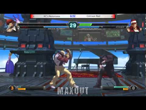 MAXOUT 2222014  The King of Fighters XIII Top 3