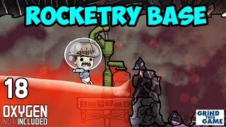 Magma Heated Sour Gas Chimney - ROCKETRY UPGRADE BASE #18 - Oxygen Not Included