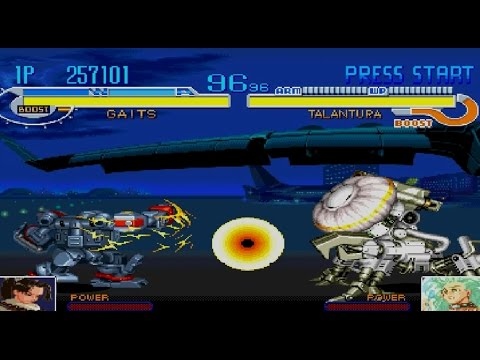 Cyberbots: Full Metal Madness Gameplay Arcade Modes (PlayStation,PSX,PS1)