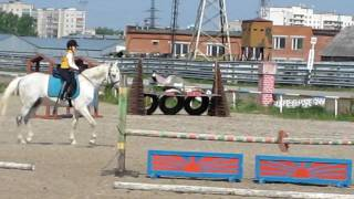 Детский конкур))