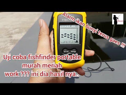Review Dan Uji Coba Fish Finder Portable