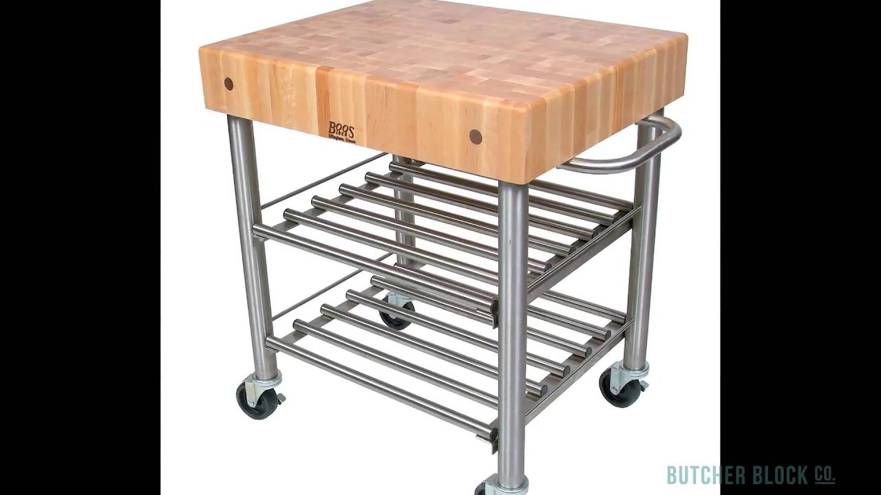 John Boos Cucina D Amico Kitchen Carts Butcher Block Co