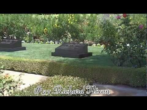 Richard Nixon Grave + Home