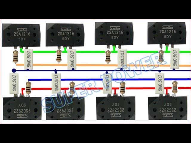 Upgrade Power ampli 400 wat Ke 1000 watt