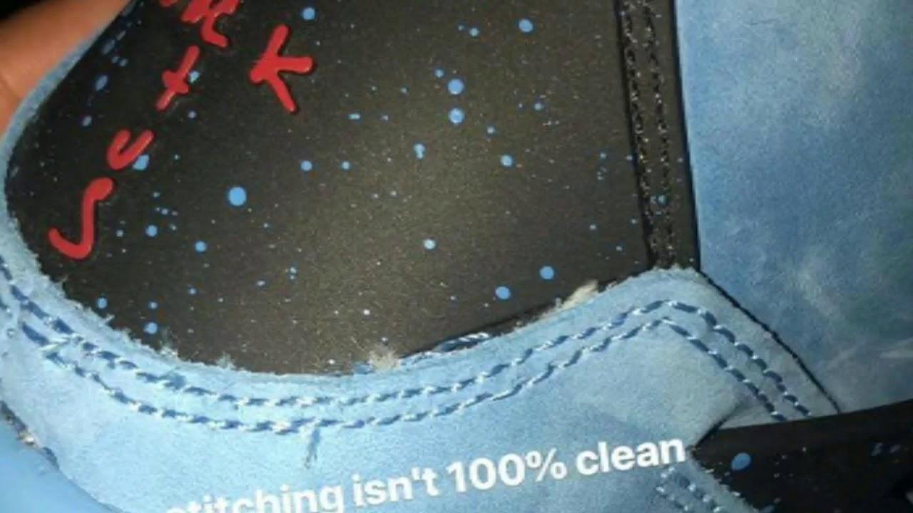 9d18e61c1255fc ... Air Jordan 4 Retro Cactus Jack Travis Scott Factory Flaws Montage ...