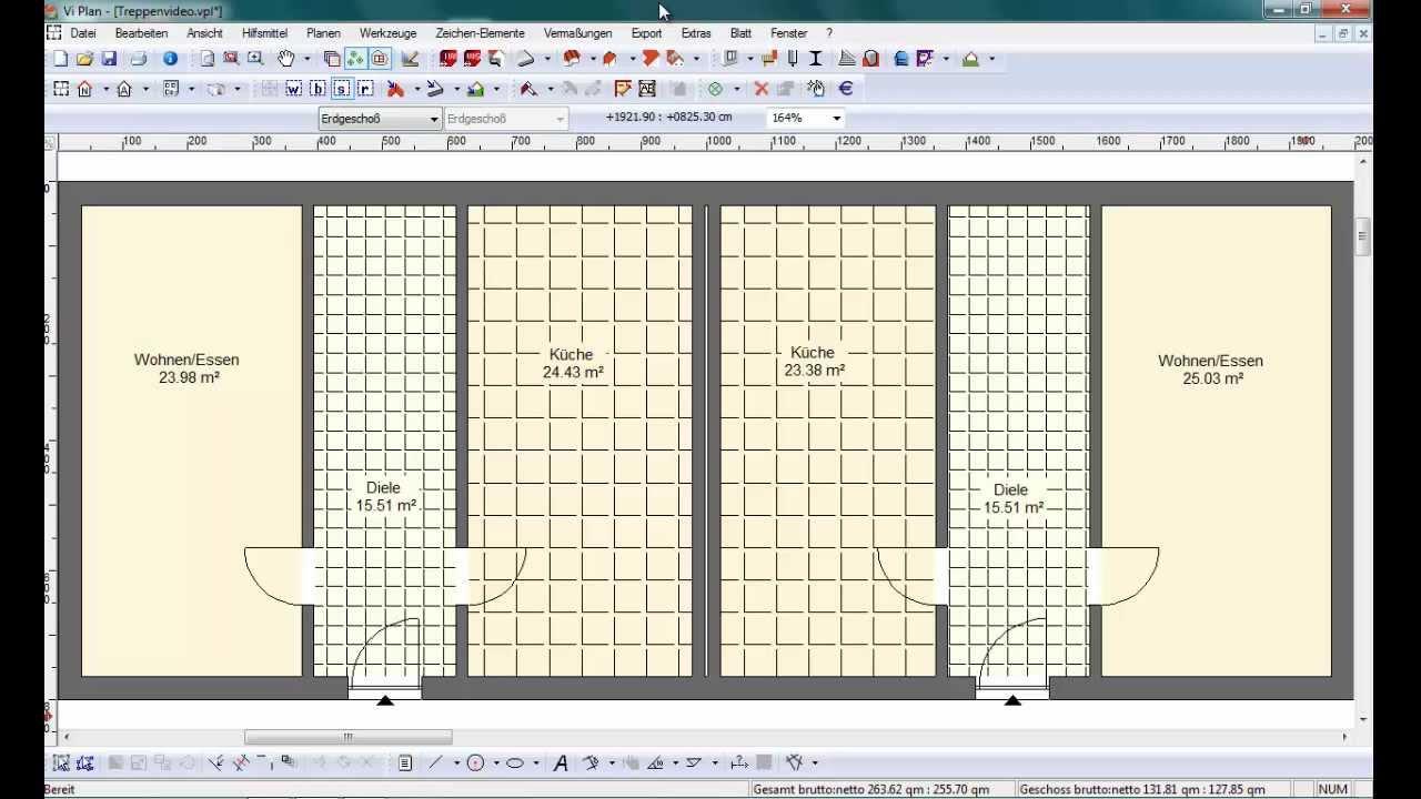 vi2000 vi plan individuelle treppen planen youtube. Black Bedroom Furniture Sets. Home Design Ideas
