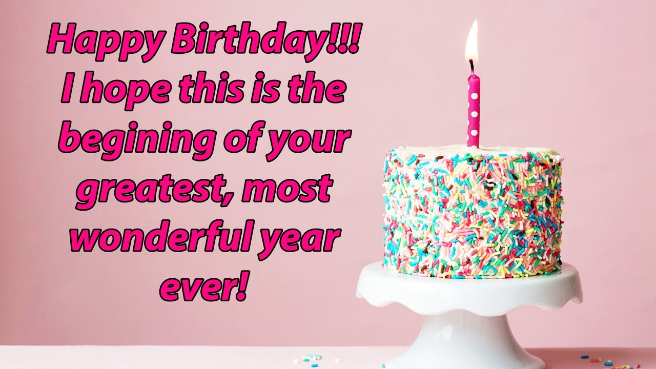 Happy Birthday Quotes Messages And Sms Youtube